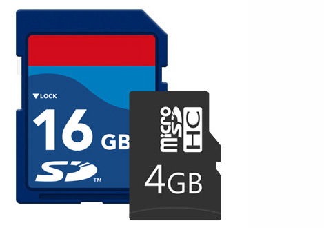 Micro SD Storage Support
